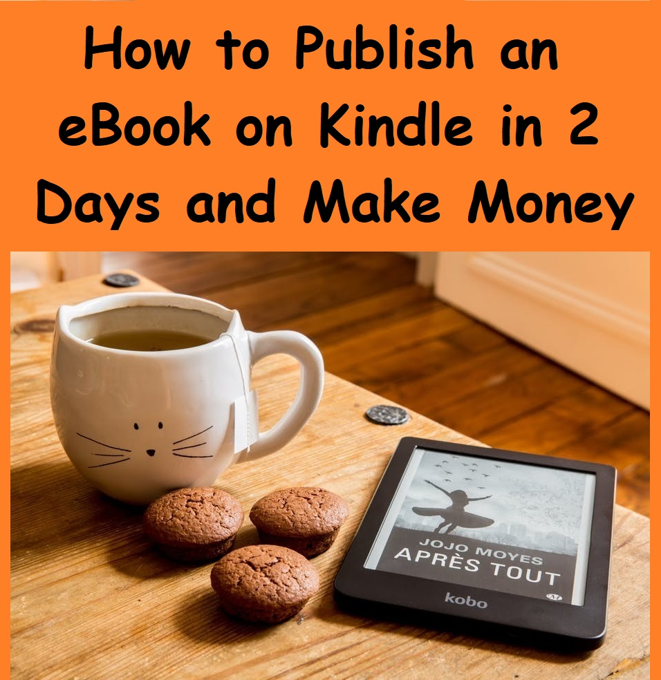how to publish an ebook on kindle