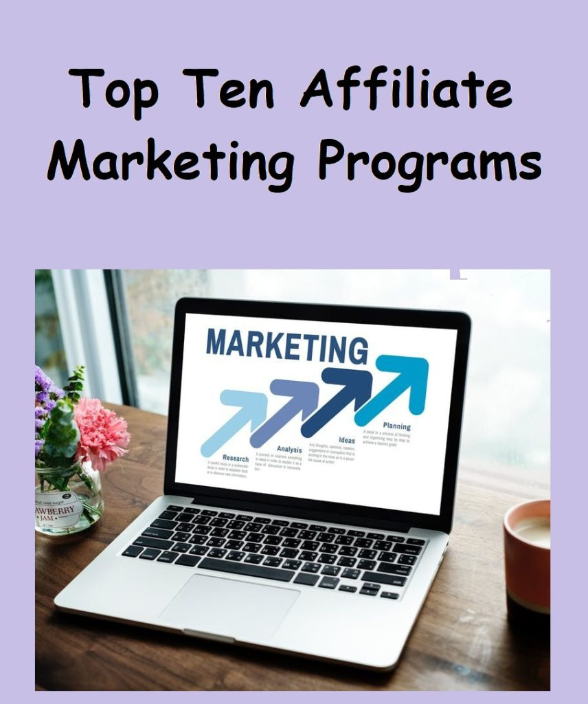 top ten affiliate marketing programs