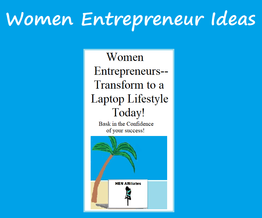 women entrepreneur ideas